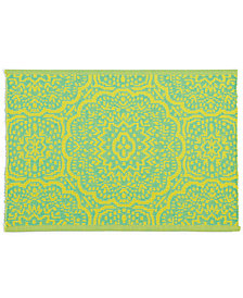 Fiesta Global Geo Rib Turquoise Placemat