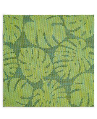 Tropical Leaf Cool Woven PVC Placemat