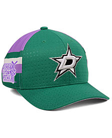 adidas Dallas Stars Hockey Fights Cancer Stretch Cap