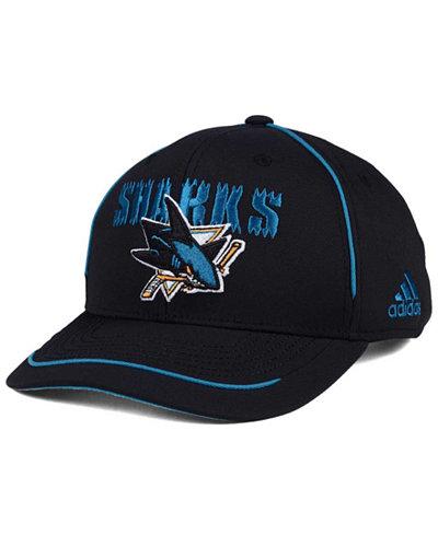 adidas San Jose Sharks Piper Adjustable Cap