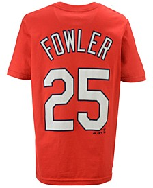 Dexter Fowler St. Louis Cardinals Official Player T-Shirt, Big Boys (8-20)