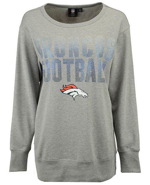 6642860f G-III Sports Women's Denver Broncos Showtime Crew Sweatshirt ...