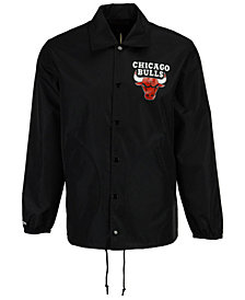 Mitchell & Ness Men's Chicago Bulls Coaches Jacket