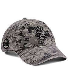 '47 Brand Wisconsin Badgers Operation Hat Trick Camo Nilan Cap
