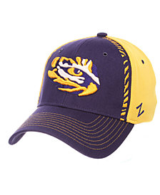 Zephyr LSU Tigers Pattern Pipe Stretch Cap