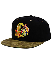 CCM Chicago Blackhawks Fashion Camo Snapback Cap