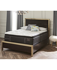 Stearns & Foster Estate Lux Salzburg 17'' Luxury Plush Euro Pillow Top Mattress- California King, Created for Macy's