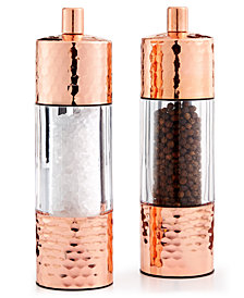 Martha Stewart Collection Hammered Copper Salt & Pepper Grinders, Created for Macy's