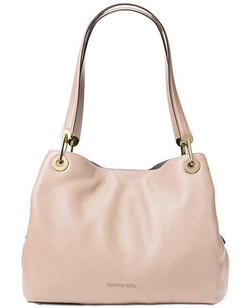 Michael Kors Raven Pebble Leather Tote - Handbags   Accessories - Macy s 3b735f9927b1a