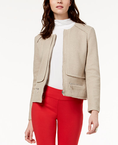 Alfani Jacquard Jacket, Created for Macy's