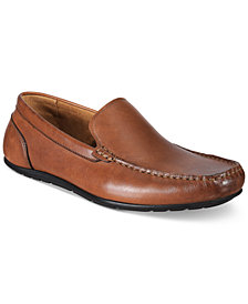 Alfani Men's Holden Leather Drivers, Created for Macy's