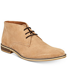 Alfani Men's Jason Suede Lace-Up Boots, Created for Macy's