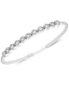 Diamond Bezel Bangle Bracelet (1/2 ct. t.w.)