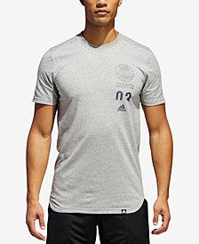 adidas Men's ClimaLite® Stacked-Logo T-Shirt