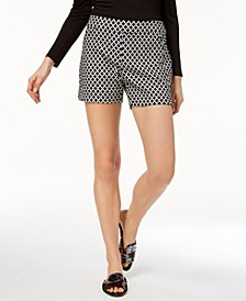 INC Printed Jacquard Shorts, Created for Macy's