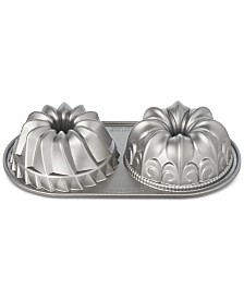 Martha Stewart Collection Duet Bundt Pan Set, Created for Macy's