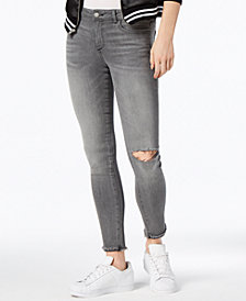 DL1961 Emma Low Rise Skinny Ripped Jeans