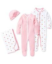 f1e4400f3 Ralph Lauren Baby Girls Pretty in Pink Ensemble