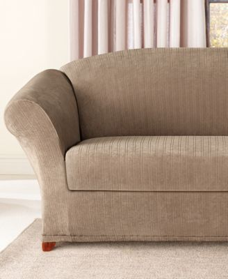 Sure Fit Stretch Pinstripe Slipcover