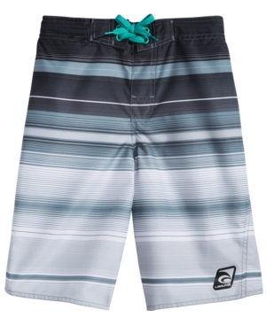 Laguna Endless Summer Striped Swim Trunks Big Boys