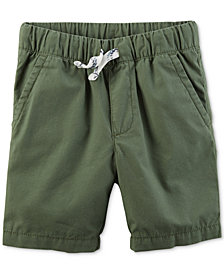 Carter's Little Boys Woven Cotton Shorts