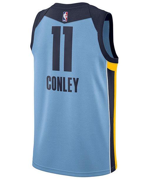 best value e1949 de4b6 Men's Mike Conley Jr. Memphis Grizzlies Statement Swingman Jersey