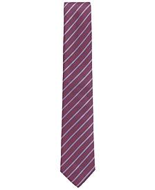 BOSS Men's Striped Silk Tie