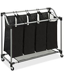 Hampers, Deluxe Quad Laundry Sorter