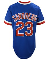 ea4258e5d Majestic Ryne Sandberg Chicago Cubs Cooperstown Player Jersey
