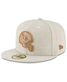 New Era Arizona Cardinals Heathered Helmet 59FIFTY Fitted Cap