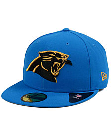 New Era Carolina Panthers Pop Off 59FIFTY Fitted Cap