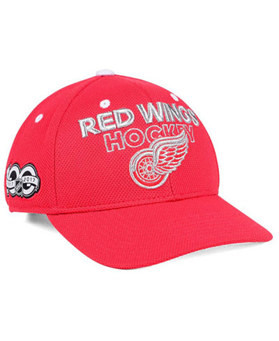 adidas Detroit Red Wings 100th Celebration Structured Adjustable Cap