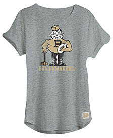 Retro Brand Women's Purdue Boilermakers Slub Rolled Sleeve T-Shirt