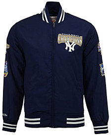 Mitchell and Ness Men's New York Yankees Team History Warm Up Jacket