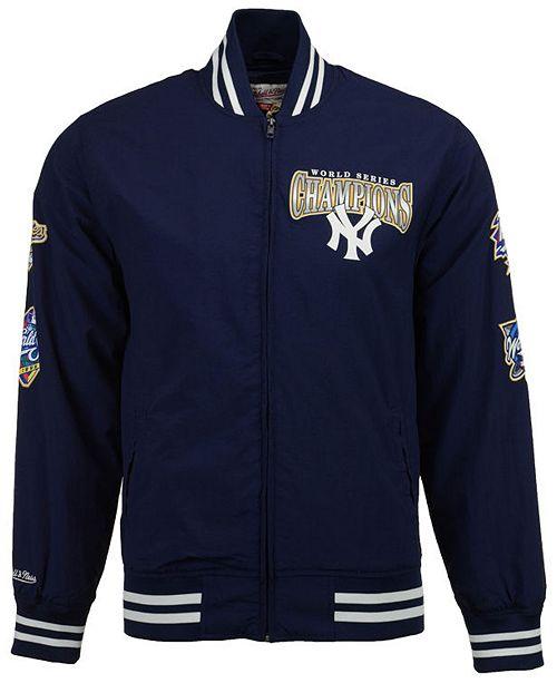 4c4c0c234 ... Up Jacket  Mitchell   Ness Mitchell and Ness Men s New York Yankees  Team History Warm ...