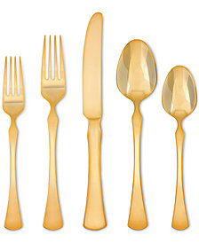 Skandia  Hampton Forge Refined Gold-Tone 5-Pc. Place Setting