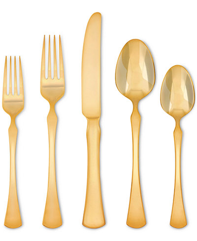 Skandia By Hampton Forge Refined Gold-Tone 5-Pc. Place Setting