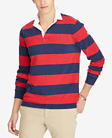 Polo Ralph Lauren Men's Iconic Striped Rugby Polo Shirt