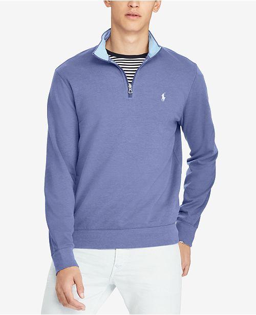 9d38f69f1637 Polo Ralph Lauren Men s Luxury Half-Zip Sweater   Reviews - Casual ...