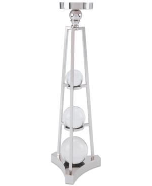 Zuo Small Silver Candle Holder With Orbs