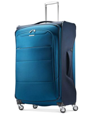 """CLOSEOUT! ECO-Spin 29"""" Expandable Softside Spinner Suitcase, Created for Macy's"""