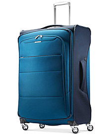 "Samsonite ECO-Spin 29"" Expandable Softside Spinner Suitcase, Created for Macy's"