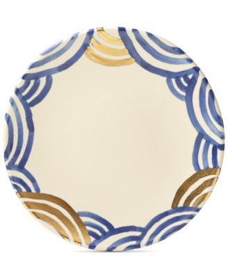 Lenox-Wainwright Pompeii Blu Sea Dinner Plate, Created for Macy's