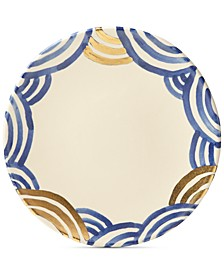 Lenox-Wainwright Pompeii Blu Sea Dinner Plate, Created for Macy's