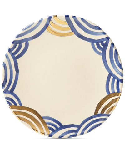 Crafted by Wainwright Pompeii Blu Sea Dinner Plate, Created for Macy's