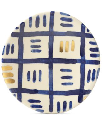 Lenox-Wainwright Pompeii Blu Sky Salad Plate, Created for Macy's