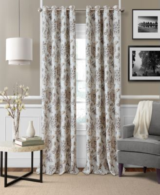 "Sorrento Blackout Linen 52"" x 84"" Window Panel"