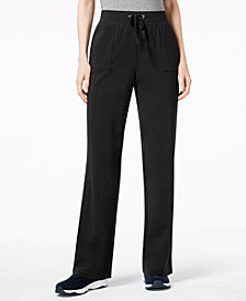 Karen Scott French Terry Pants, Created for Macy's