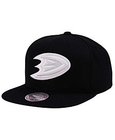 Mitchell & Ness Anaheim Ducks Respect Snapback Cap