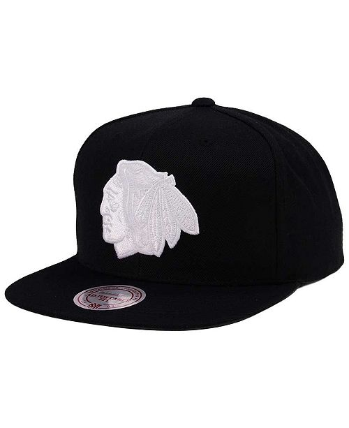 a62572a4b97 Mitchell   Ness Chicago Blackhawks Respect Snapback Cap  Mitchell   Ness  Chicago Blackhawks Respect Snapback ...